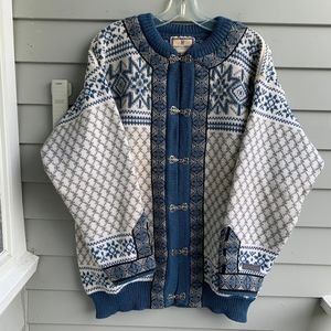 DALE OF NORWAY Classic Wool Cardigan L